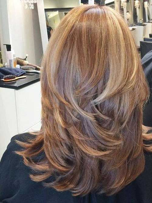 Layered Hairstyles How To Grow Long Healthy Hair  Hair Coloring Hair Style And Hair Cuts