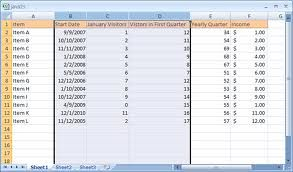 How To Insert And Delete Cells Columns And Row Ms Excel 2007 Column Excel Cell