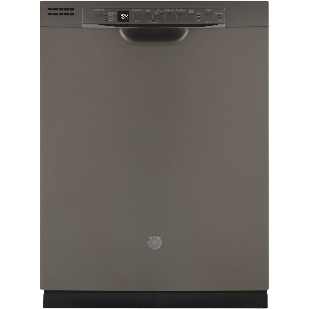Ge 24 Front Control Tall Tub Built In Dishwasher With 3rd Rack Slate Gdf630pmmes Best Buy In 2020 Built In Dishwasher Dishwasher Ge Dishwasher