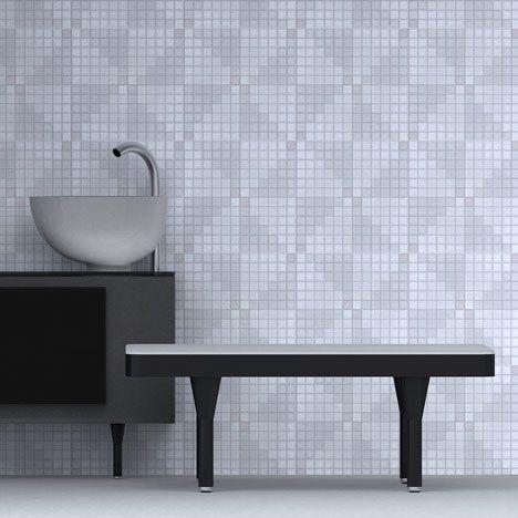 London studio Doshi Levien designed this domestic spa for Italian brand Glass Idromassaggio.