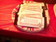 cute sweet 16 candy bars