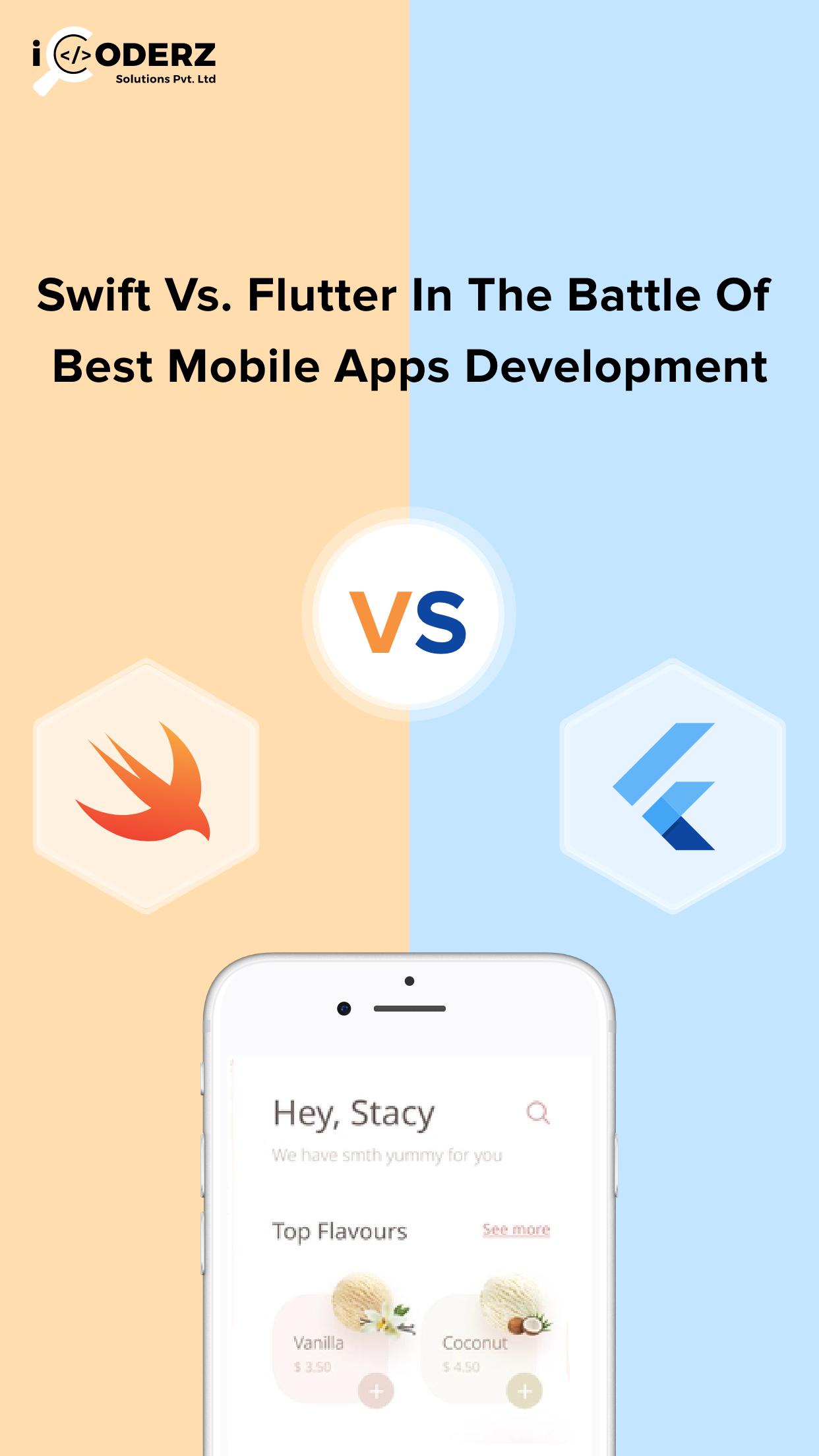 Swift Vs. Flutter in the Battle of Best Mobile Apps