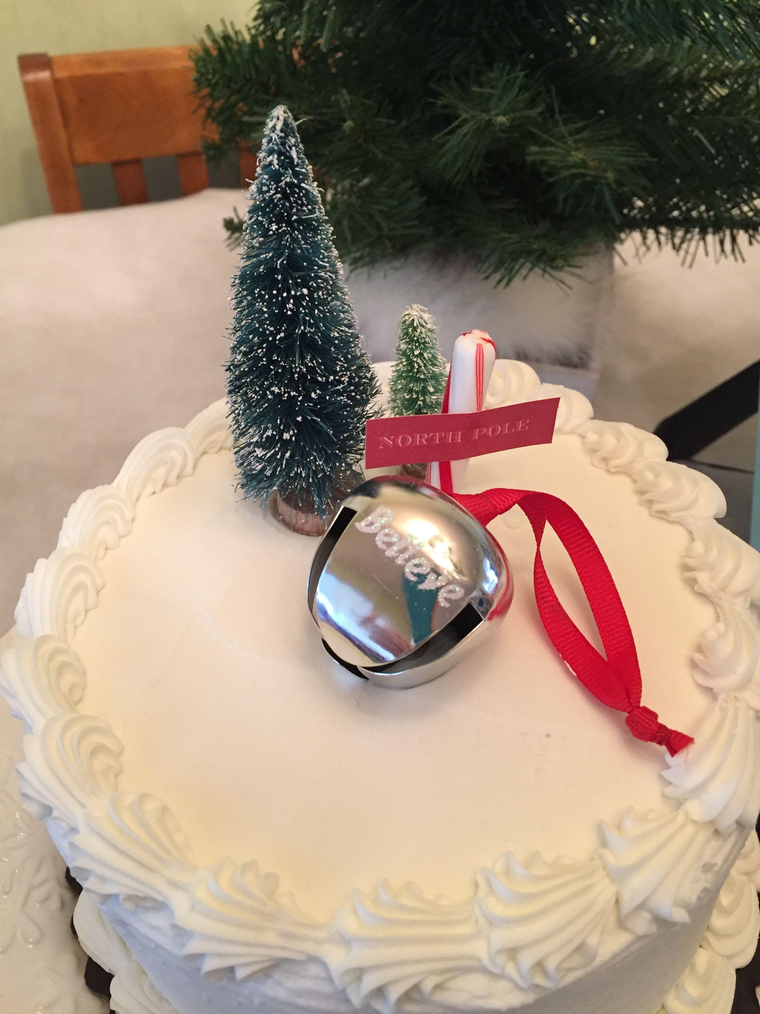 Fabulous Polar Express Birthday Cake With Images Polar Express Funny Birthday Cards Online Fluifree Goldxyz