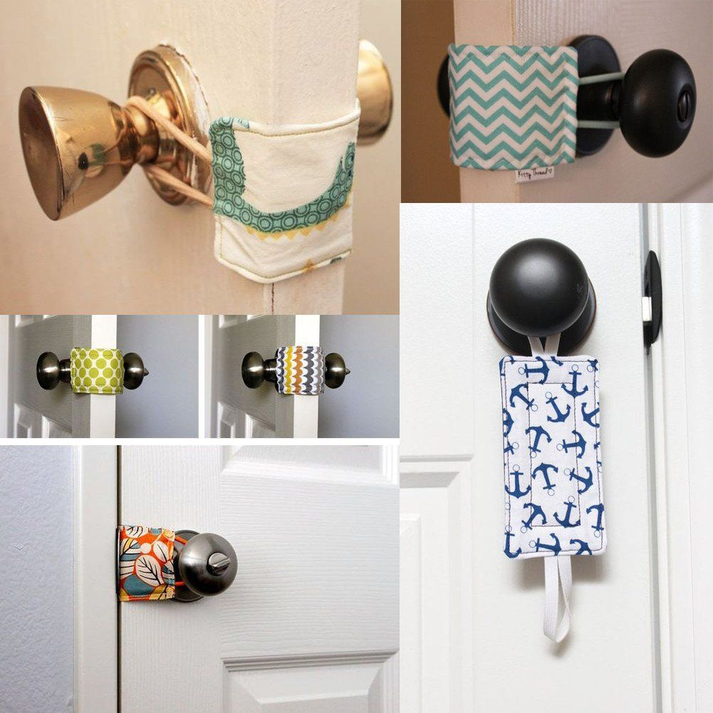 1 Pcs Cabinet Door Cover Cushion Close Cotton Protection Pad Door Latch Baby Door Baby Safety