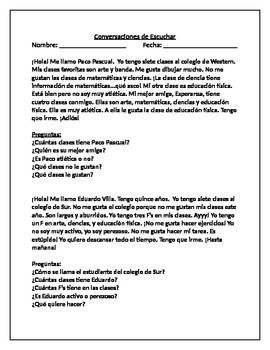 Paragraph Reading Practice - SPANISH | Reading practice ...