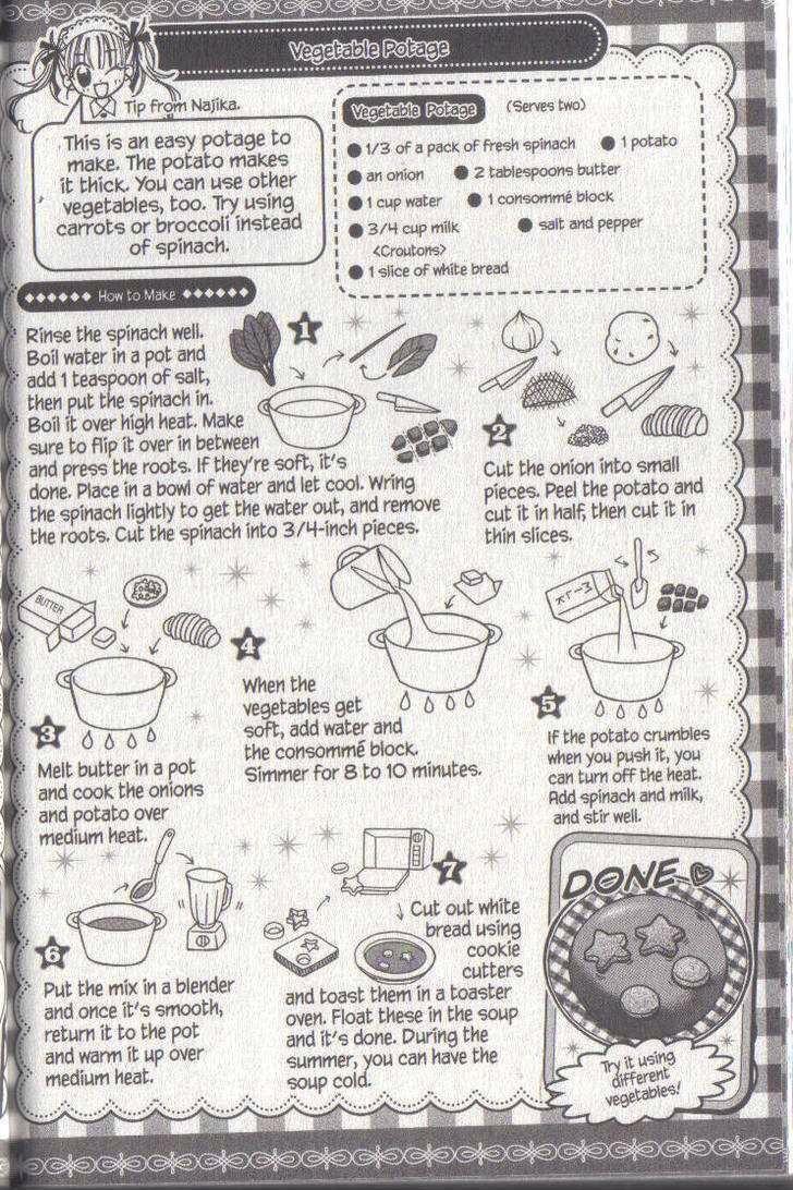 Kitchen Princess Manga Recipe For Vegetable Soup Geek Food