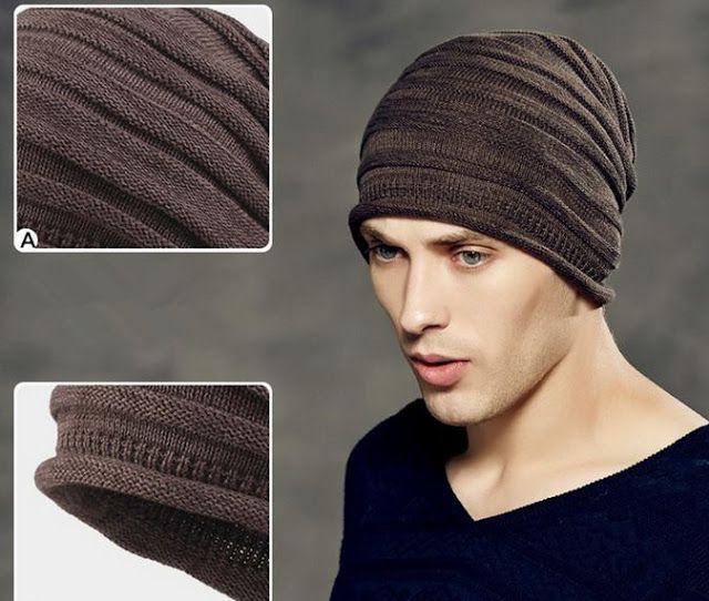 gorros tejidos para hombre www.kangutingo.com info: 3115093291 ...