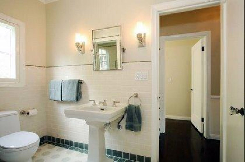 Retro Bathroom Ideas | Ball dimity vintage bathroom ann sacks tiles ...