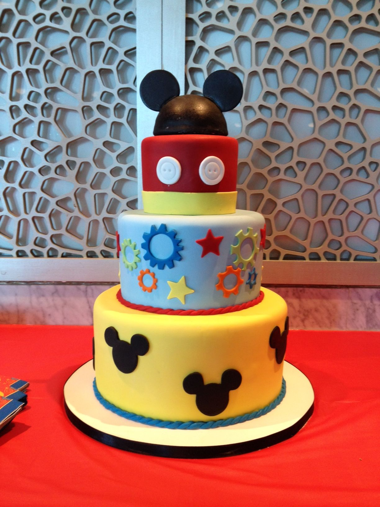 Mickey Mouse Clubhouse Birthday Cake Amy Beck Cake Design Chicago