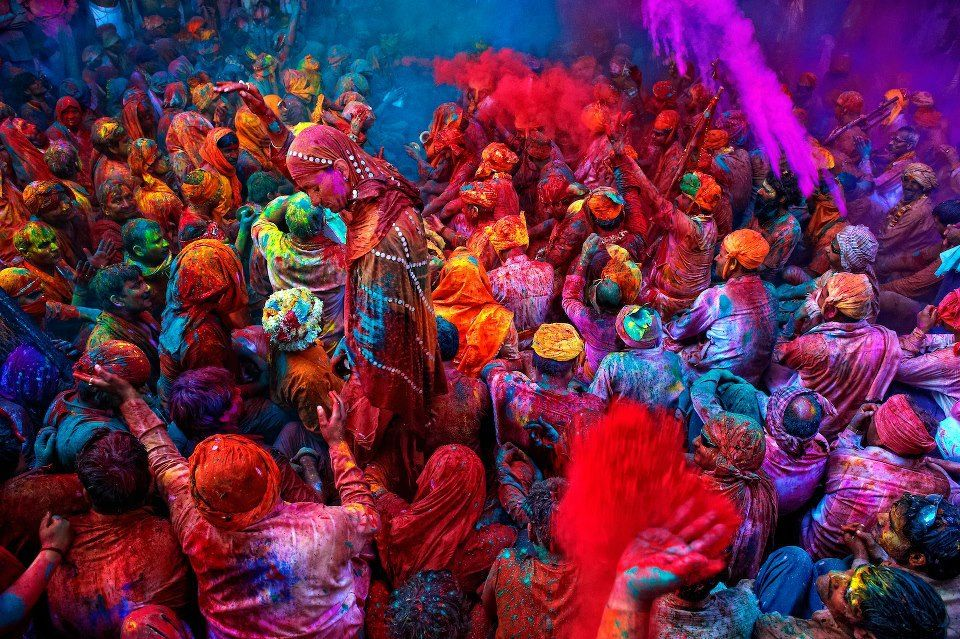 Immersed in color, beautiful, rich color India Pinterest
