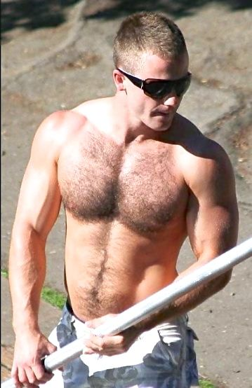 hairy construction Men chest