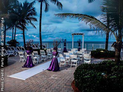 Ocean Sky Resort Ft Lauderdale Weddings Miami Wedding Venues 33308 Florida Wedding Venues Sky Resort Ocean Sky