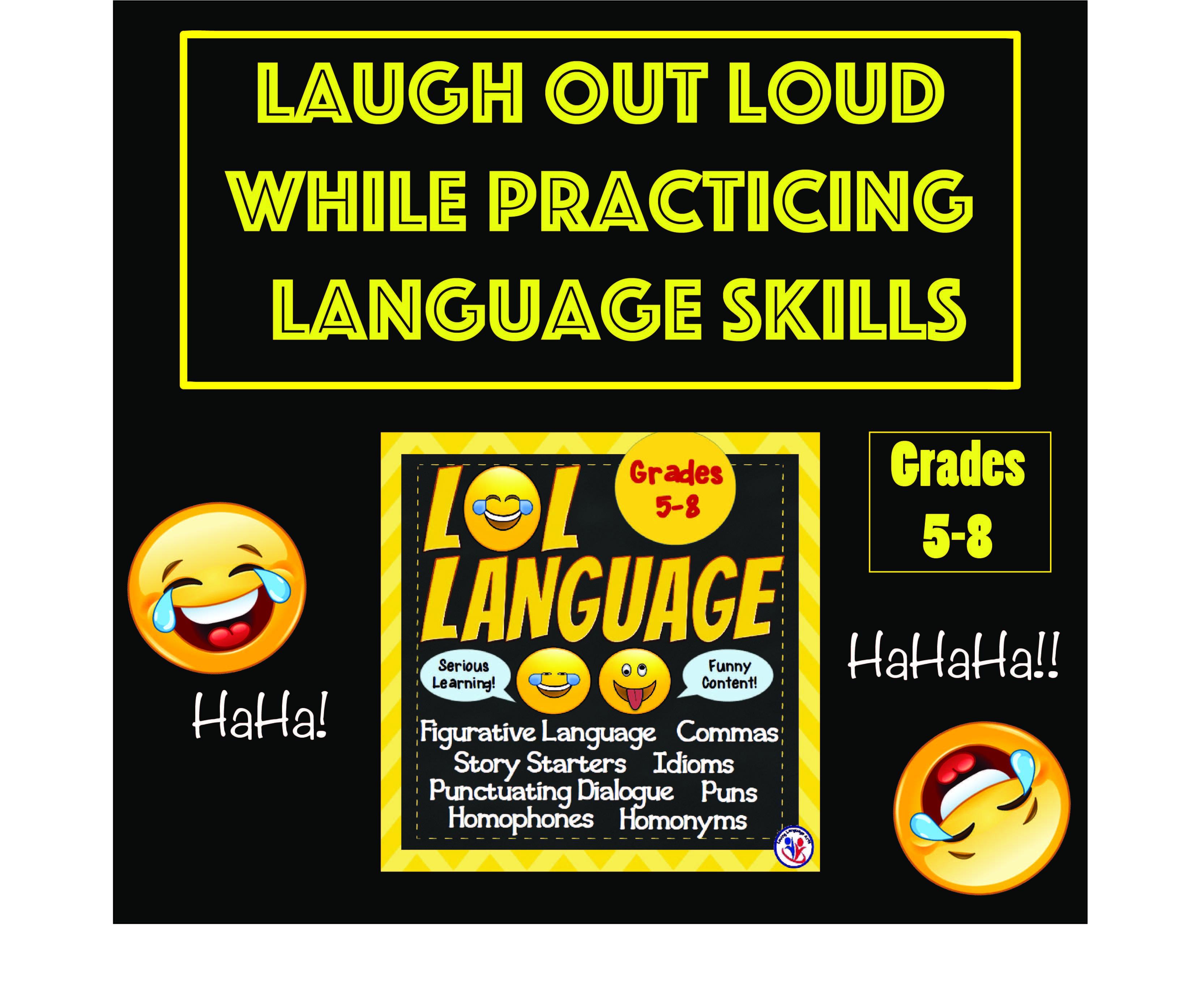 Lol Language Worksheets