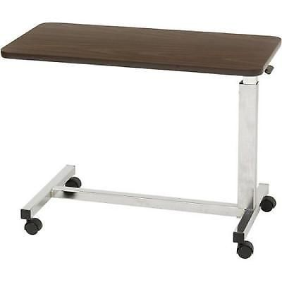 Over Bed Table Low Height 3.25 Inch Frame To Floor Clearance Laptop Tv Food Desk