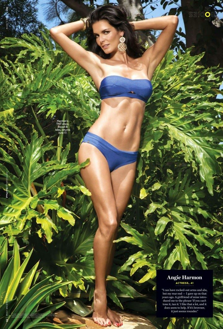 Angie Harmon - US Weekly June 2014 The Body Issue ...
