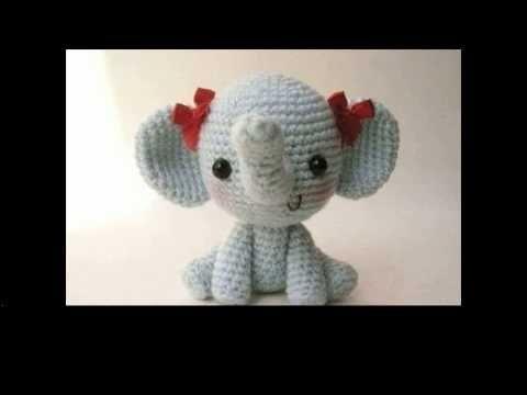 Amigurumi Patterns Elephant : Easy crochet elephant projects youtube video
