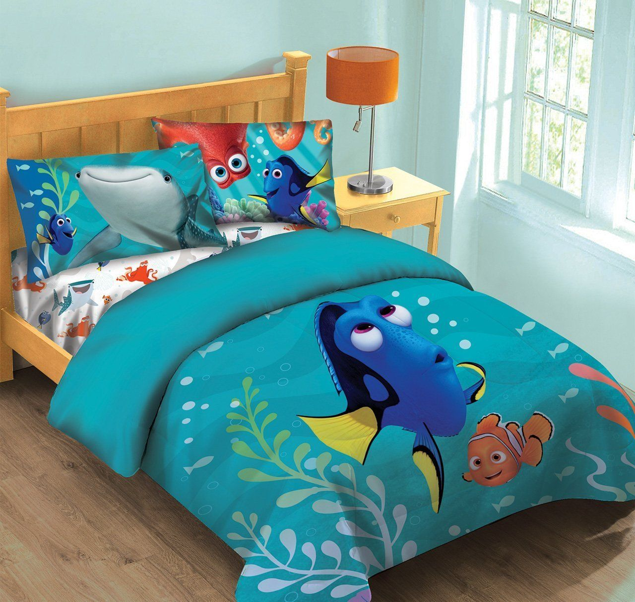 disney finding dory fish finder full comforter set wfitted sheet check out this great product