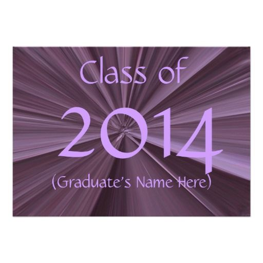 Class of 2014 Graduation Invitations by Janz you will get best price