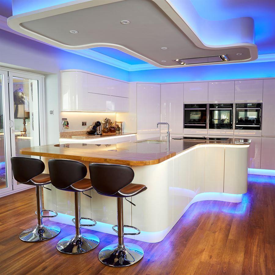 Kitchen Island Unit Lights: ATLANTIS KITCHENS PROJECT