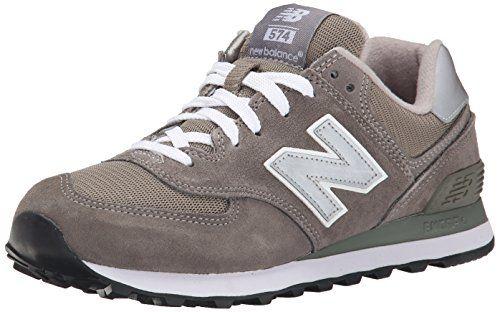 New Balance Men's ML574 Lifestyle Sneaker,Grey/Silver,9.5 D - http:
