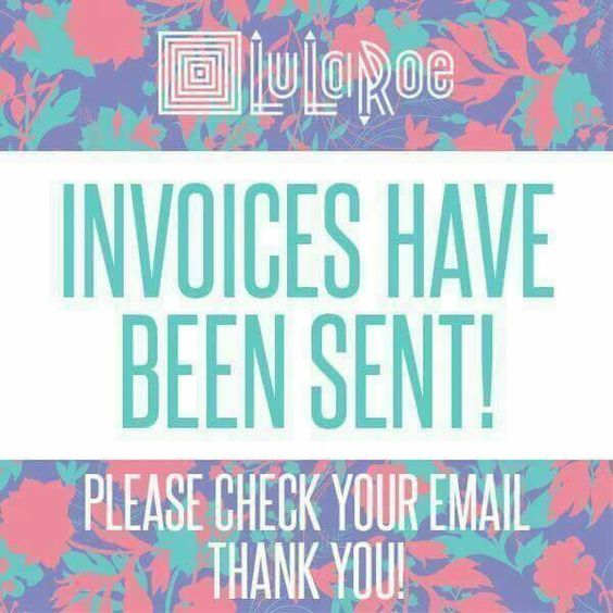Free Lularoe Graphics Invoices Sent Check Email Www
