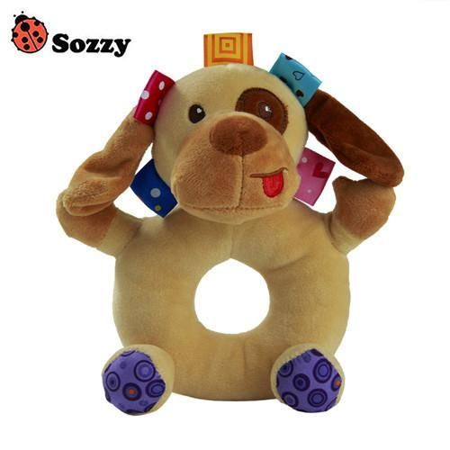 Sozzy 6 Styles Baby Cheerful Rocking Toys Crinkle Sound Soft Gentle ...