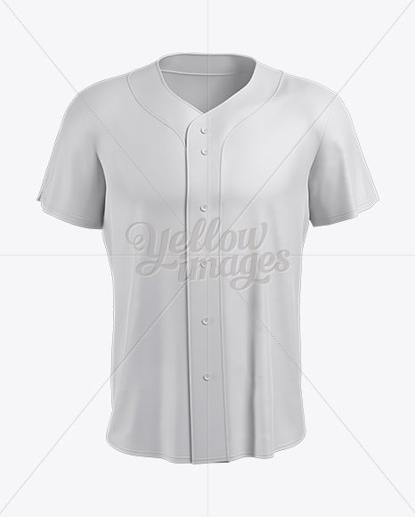 Download Men S Baseball Jersey Mockup Front View In Apparel Mockups On Yellow Images Object Mockups Clothing Mockup Baseball Jersey Men Baseball Jerseys