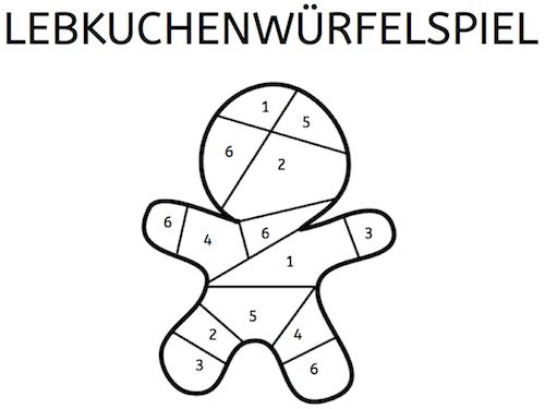 lebkuchenw rfelspiel kids stuff mathe spiele und lebkuchen. Black Bedroom Furniture Sets. Home Design Ideas