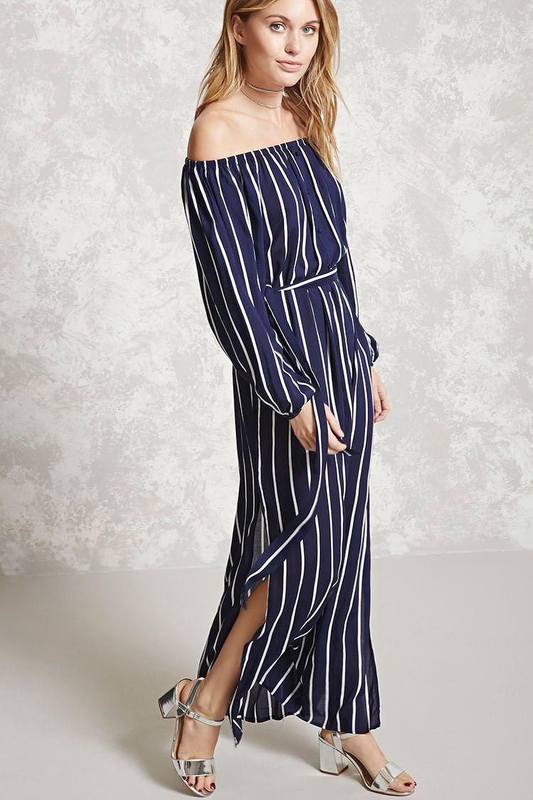 Forever contemporary a woven maxi dress featuring an allover