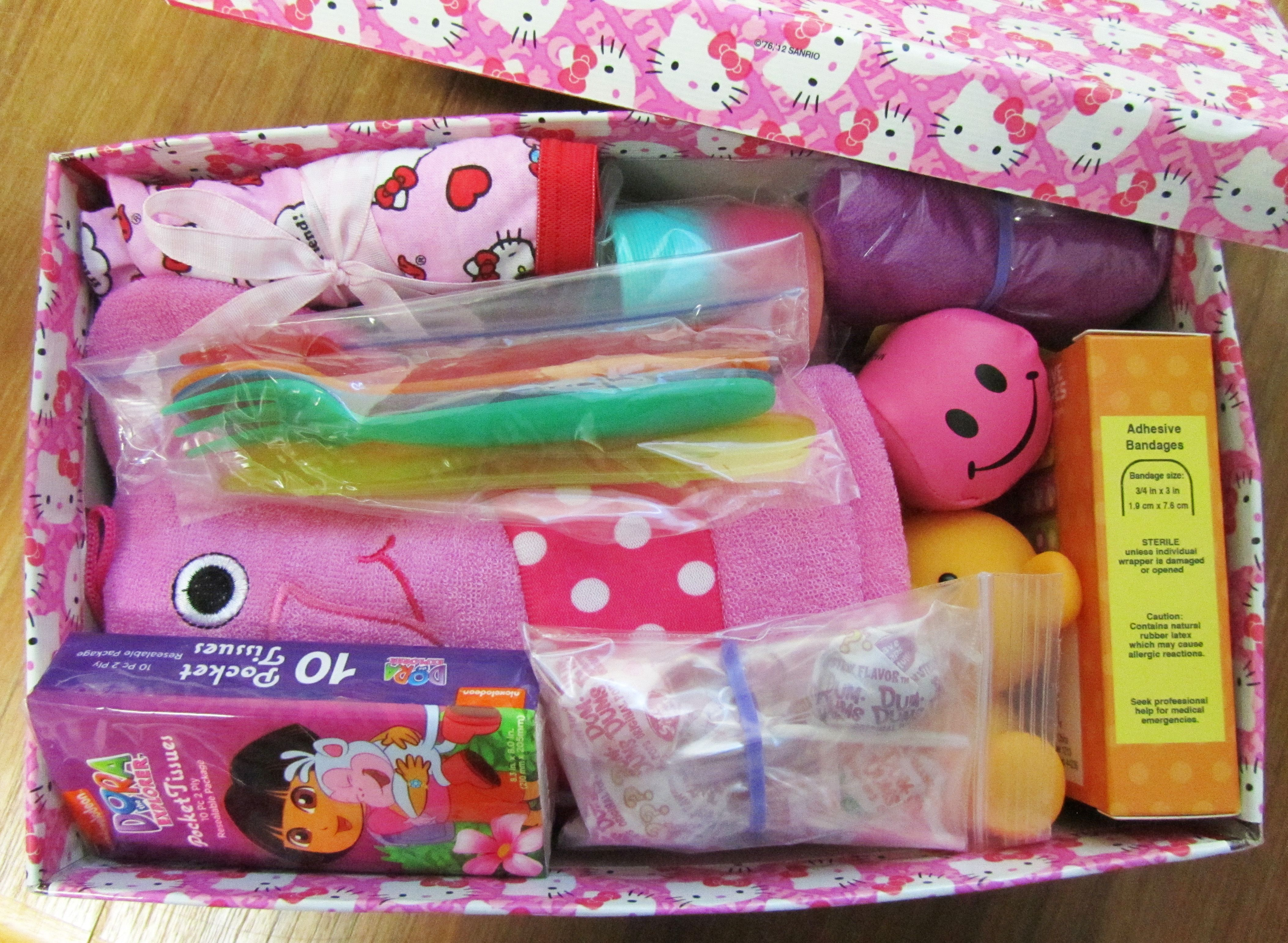 Box For Girl Age 2 4 Operation Christmas Child