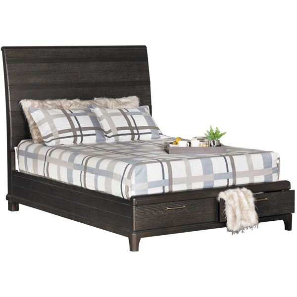 Your Bedroom Will Love The Hickory Dark King Sleigh Bed By Rivers