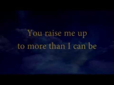 YouTube | beautiful save songs | You raise me up, Karaoke, Lyrics