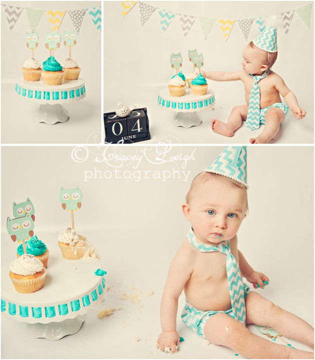 Children Child Photography One Year Old Cake Smash Portrait