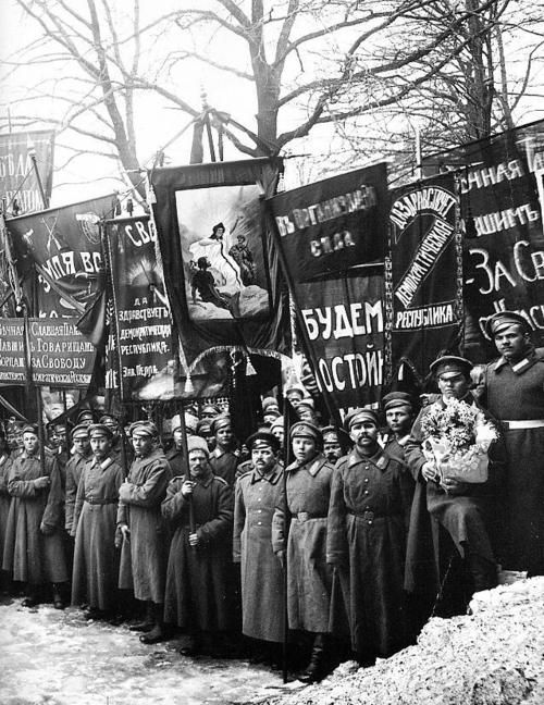 the february march revolution how far would In february, when a women's day march through petrograd merged with angry bread queues, the unrest spilled over into revolution soldiers ordered to fire on the crowd refused and shot their officers instead.