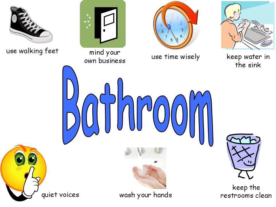 School Bathroom Rules pbis in the bathroom | pbis | pinterest | behaviour chart
