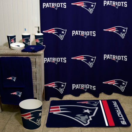 Nfl New England Patriots Decorative Bath Collection Shower