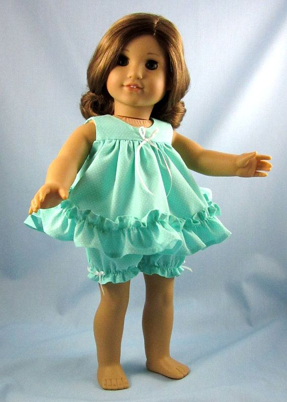 18 Inch Doll Clothes - American Girl Doll Clothes - Doll Shortie ...