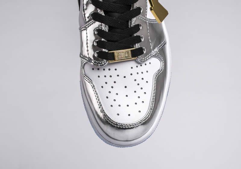 bc700e8a0eb220 Kawhi Leonard s Air Jordan 1 Silver High Think 16  Pass The Torch  AJ1 For