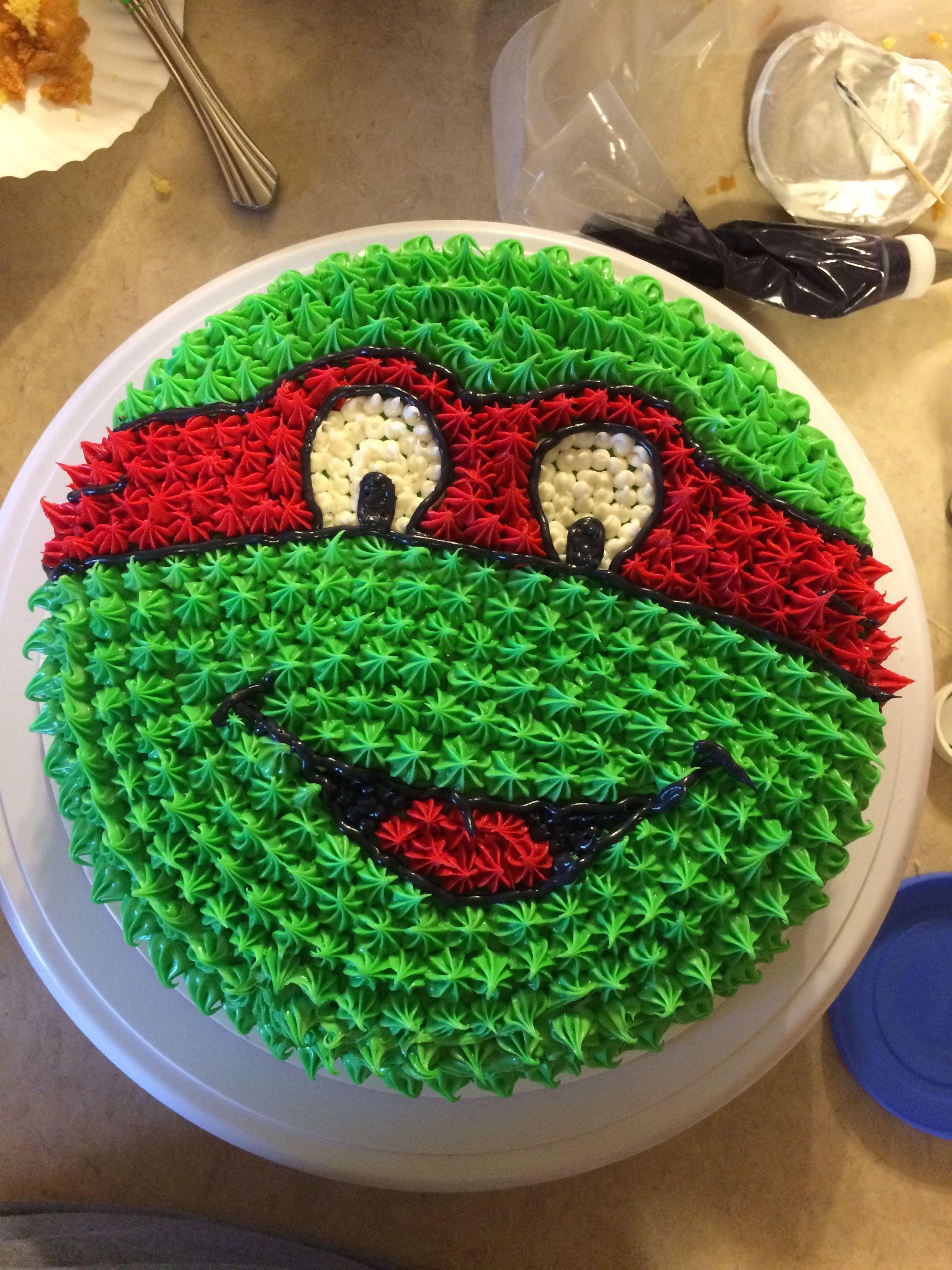 Ninja Turtle Raphael Birthday Cake My Stuff Pinterest Ninja