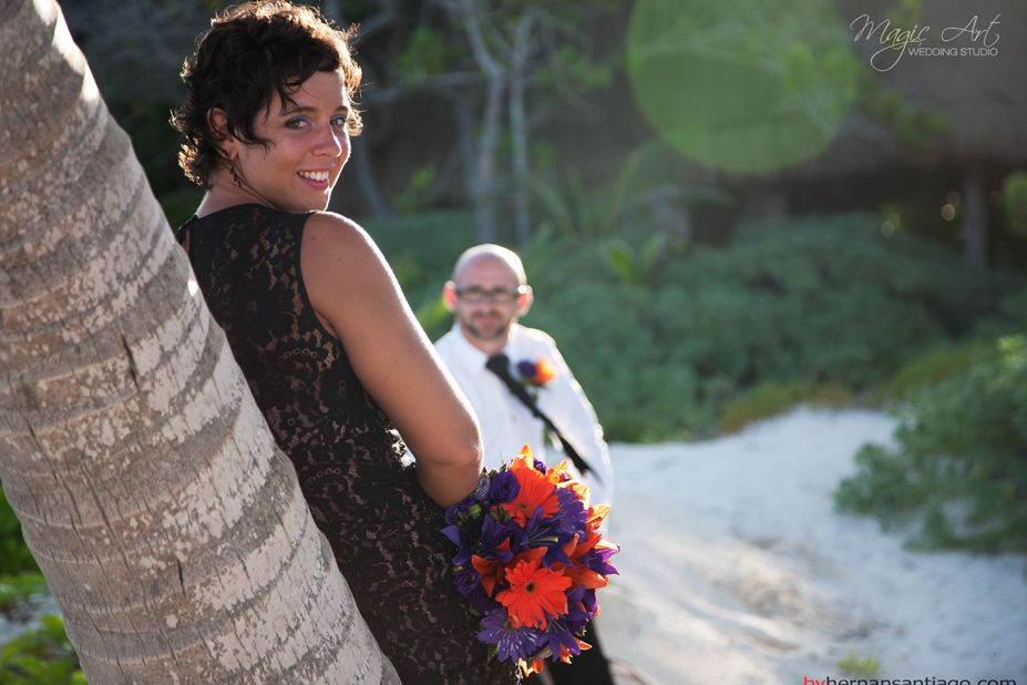 Andrea & Brian Wedding @ Tulum