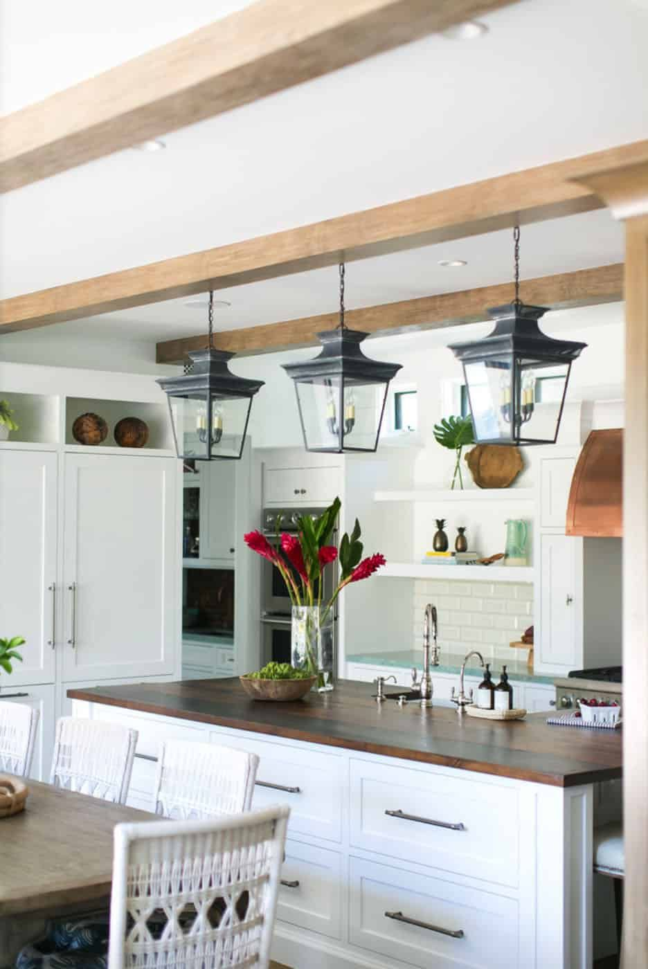 Cape Cod Style Home In Corona Del Mar Inspires A Taste Of The Caribbean Contemporary Kitchen Design Contemporary Kitchen Kitchen Design