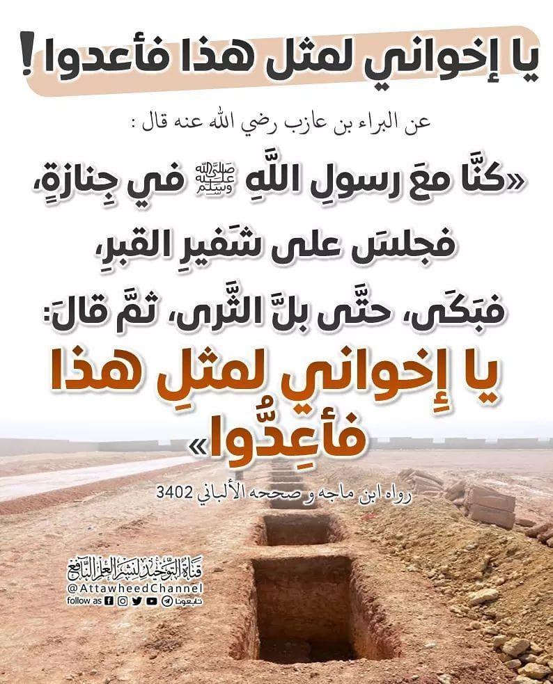 صفحة المسلم Islam Facts Hadeeth Holy Quran