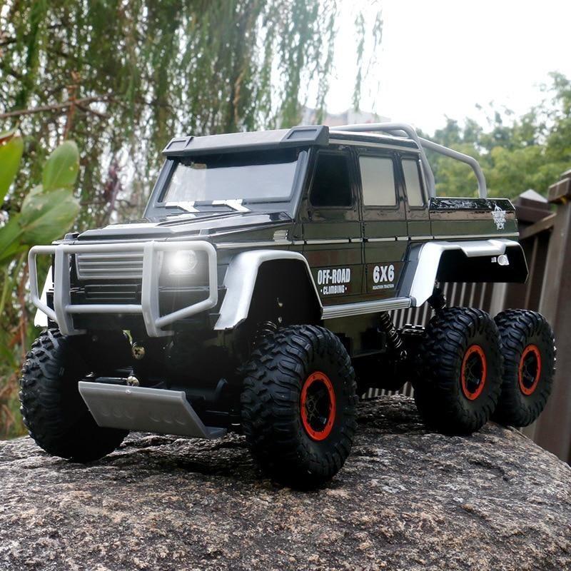 Carrinho De Controle Remoto Off Road 6x6 Estilo Jeep Em 2020