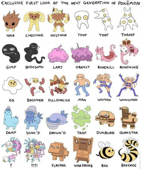 The next Pokemon generation