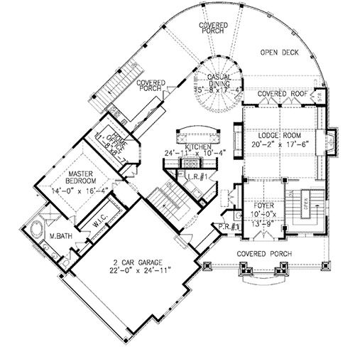 plan 15726ge craftsman mountain home plan bonus rooms craftsman I Beam Storage beam ceilings