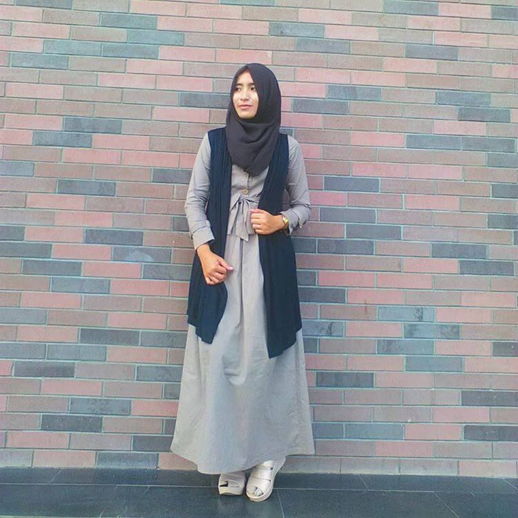 Tips Padu Padan Model Warna Hijab Dan Busana Muslimah Cantik