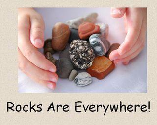 Kindergarten Rocks and Soil unit