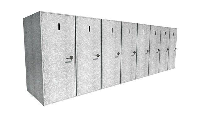 Vertical Bike Lockers With Images Vertical Bike Bike Locker