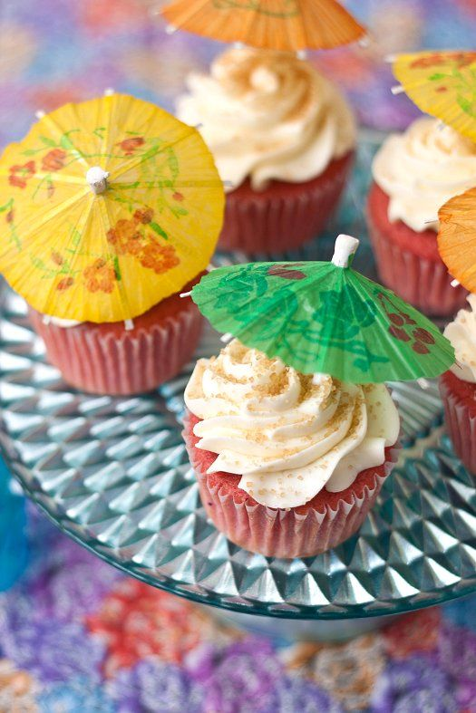 Strawberry Daiquiri Cupcakes Recipe Coconut Rum Rum