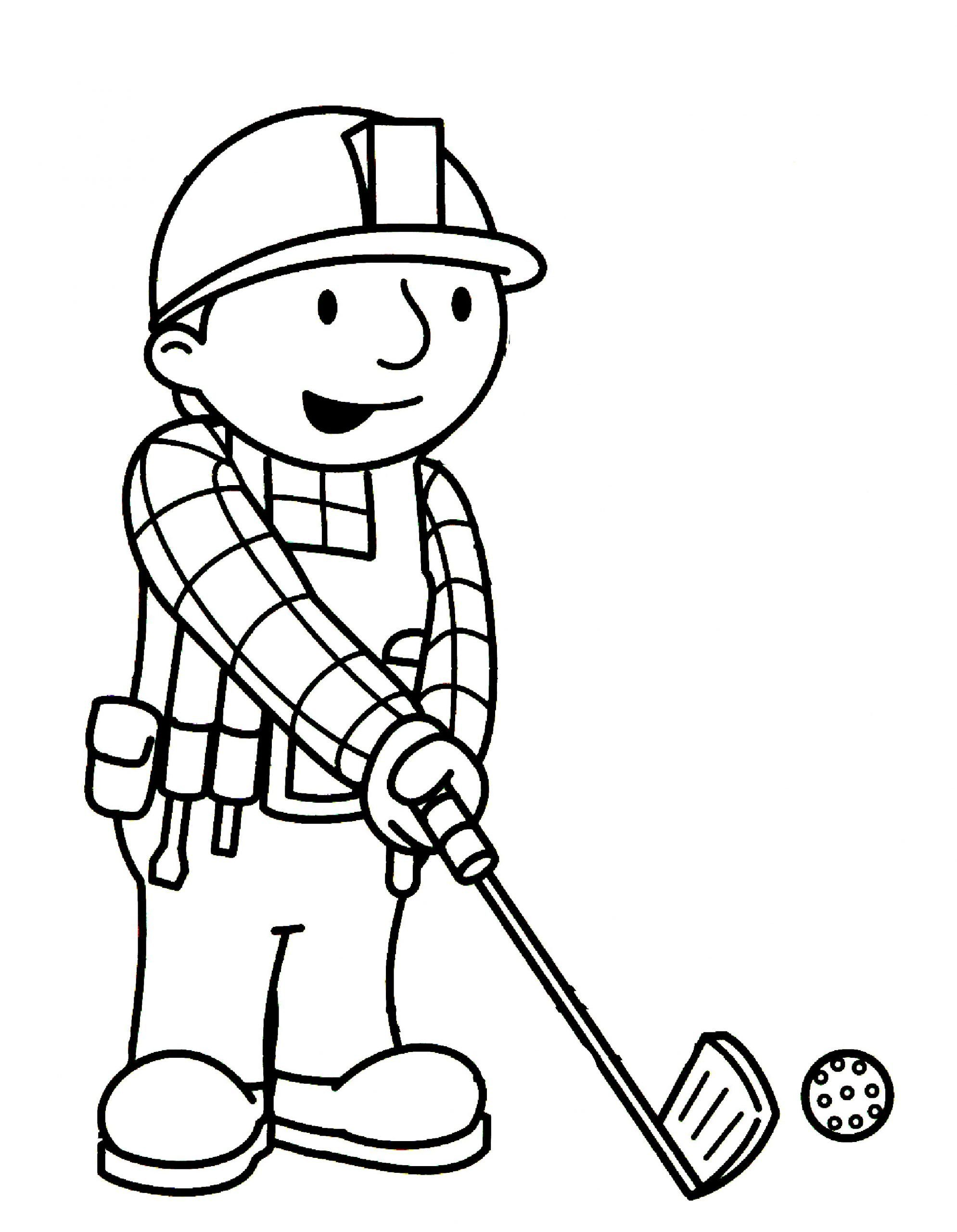 Bob The Builder Coloring Sheets Bob The Builder Coloring